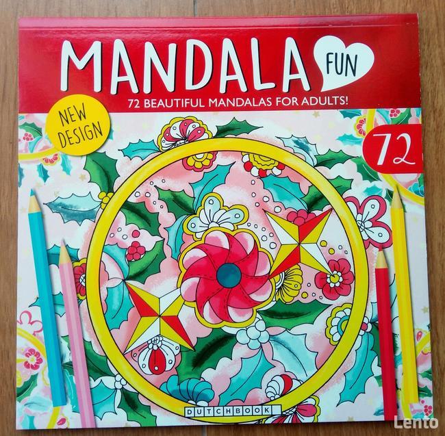 Mandale Antystresowa kolorowanka FUN Relaks
