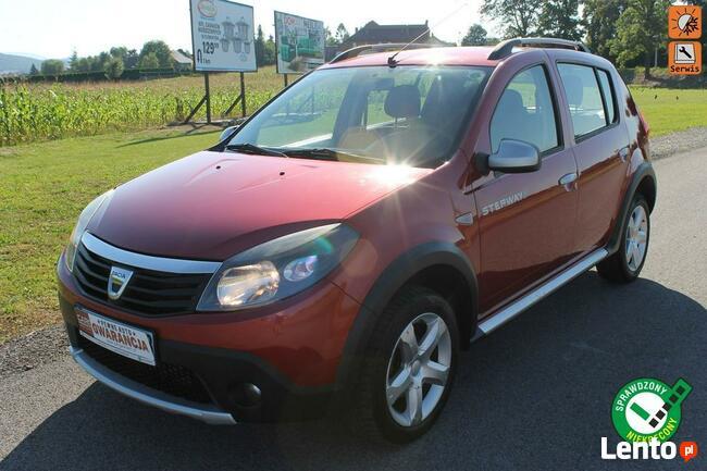 Dacia Sandero Stepway oryginał bezwypadek super stan zamiana mod 2012