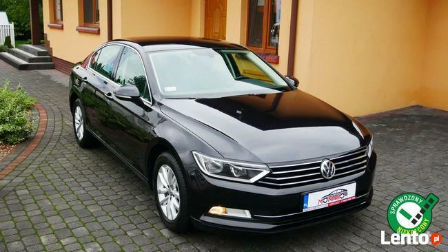 Volkswagen Passat Sedan 2.0 TDI DSG+Łopatki Salon Polska Serwis ASO Bezwypadkowy