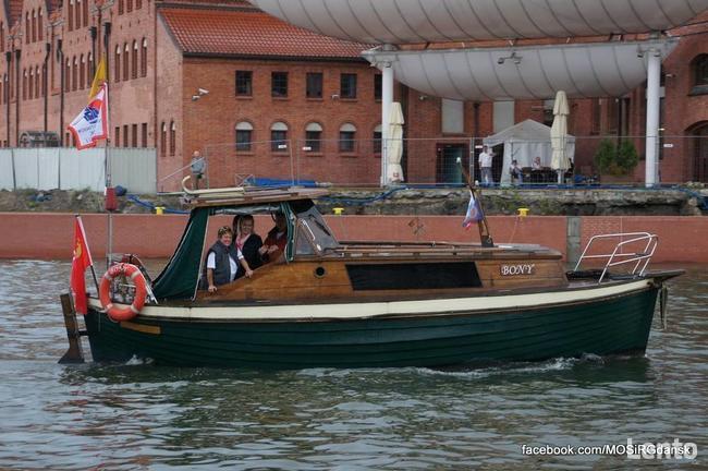 Sprzedaż łodzi motorowej