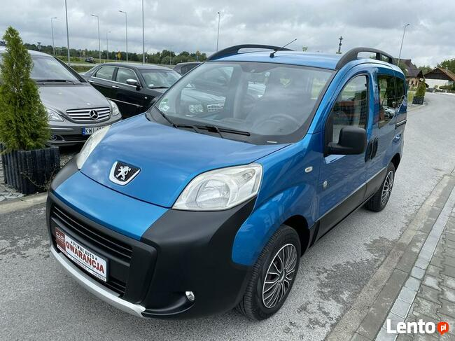 Peugeot Bipper Raty/Zamiana Gwarancja wersja outdoor super stan zobacz