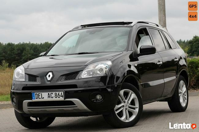 Renault Koleos 173KM Navi Skóry 4x4 Bose Panorama Bi-xenon MMI Niemcy