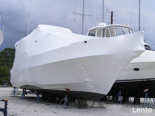 Zimowanie Jachtów, Foliowanie, Strzeżony Plac