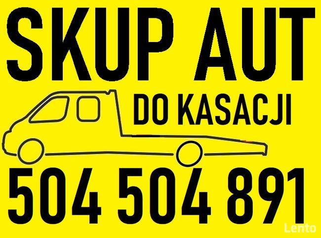 Skup Aut Złomowanie Kasacja Gdańsk t.504504891 Trójmiasto