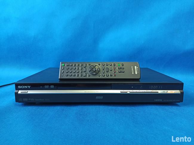 Nagrywarka DVD/HDD SONY RDR-HX650 / HDD 160 GB /HDMI/ +R/DL