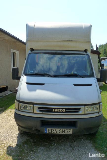 Iveco Daily 35C12 HPI biały kontener schodki, auto sprawne