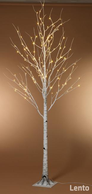 Duża ilość!! drzewko ozdobne BRZOZA 180cm 144 led