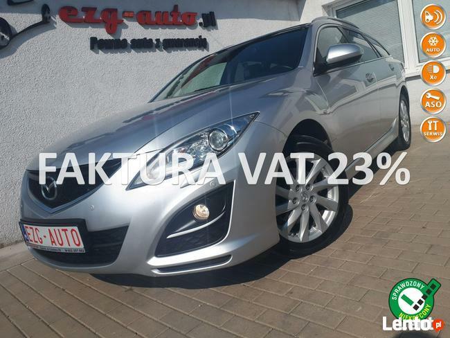 Mazda 6 Serwis b. bogate wyposażenie bezwypadkowy Gwarancja