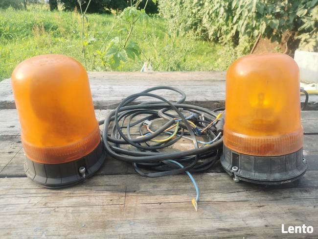 Lampy ostrzegawcze koguty