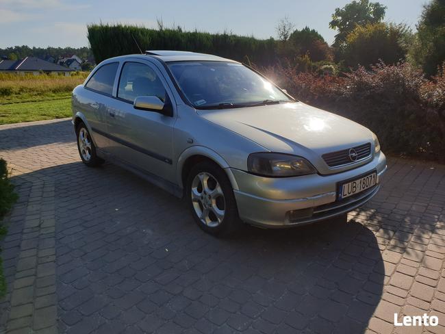 Opel Astra G Hatchback 2.0 DTI 101KM srebrny, szyberdach