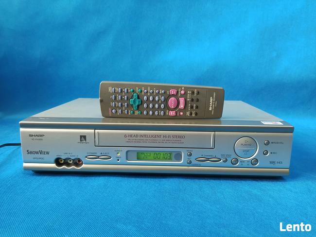 Video SHARP VC-FH300 /S-VHS/6 Głowic/LP-EP/ Pilot