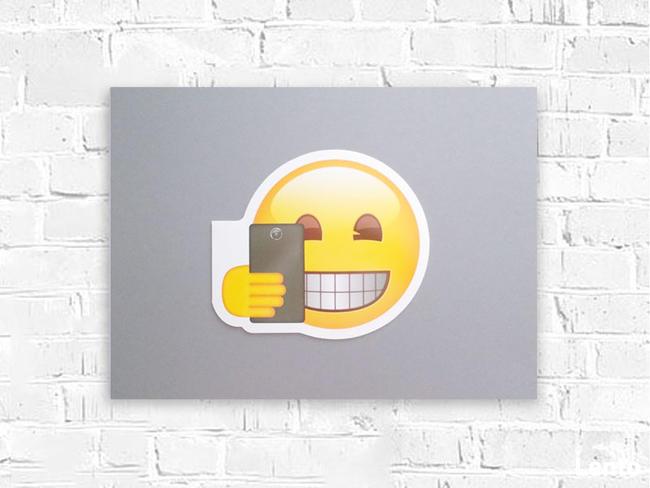 emoji plakat a3, grafika do pokoju nastolatka