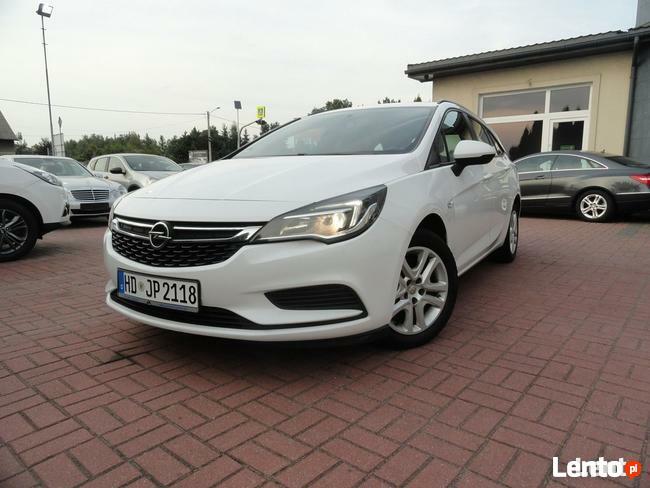 Opel Astra 1,6 Diesel 2016 Navi Multimedia Biała Jeden Właściciel Super Stan