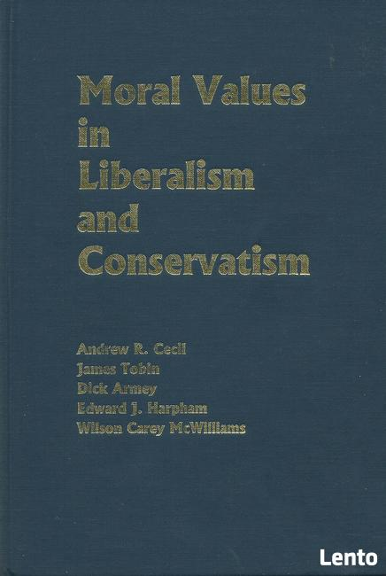 Moral Values in Liberalism and Conservatism