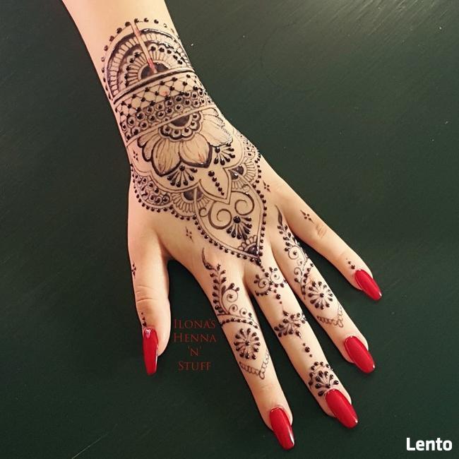 Mehendi - naturalne tatuaże tymczasowe z henny i jaguy