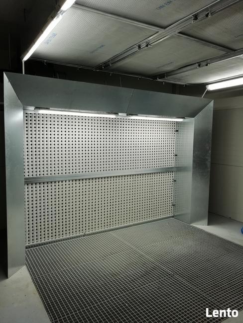 Ściana lakiernicza 2000 mm X 2000 mm - Falownik + tłumik