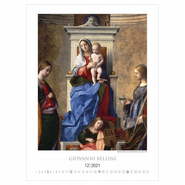 Veronese Lippi Lotto Veronese reprodukcje kalendarz 2021