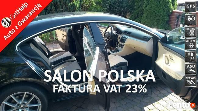 Volkswagen CC 22600 Netto Salon PL Bi-xenony Navigacja AF 17 Gwarancja