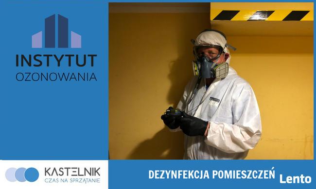 Dekontaminacja pomieszczeń, ozonowanie pomieszczeń Kastelnik