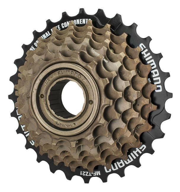 Wolnobieg SHIMANO 7 rzędów NAKRĘCANY rower
