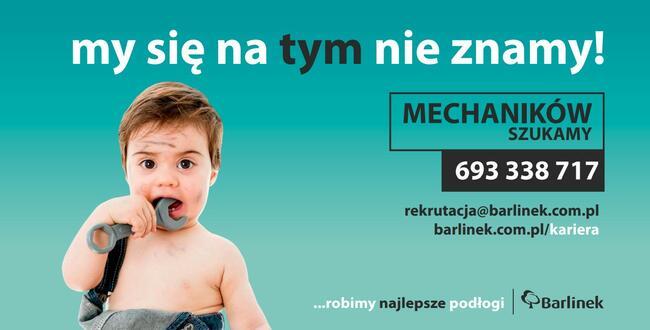 Mechanik - Barlinek Inwestycje Sp.z o.o.