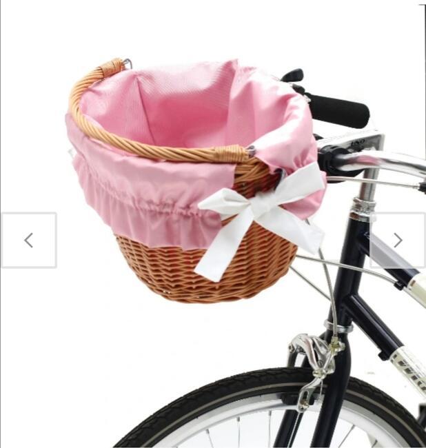 Wyściółka na kosz rowerowy Wiklina