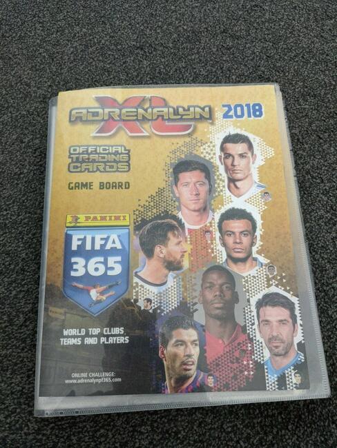 KARTY - Panini Adrenalyn XL FIFA 365 2018