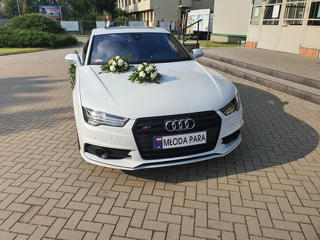 Auto do Ślubu !!! . Piękne białe AUDI S7
