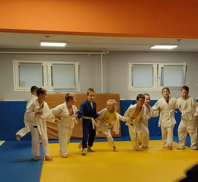 Treningi Judo dla dzieci.