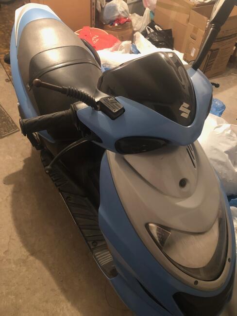 Suzuki GSX / Katana skuter w bardzo dobrym stanie sprzedam o