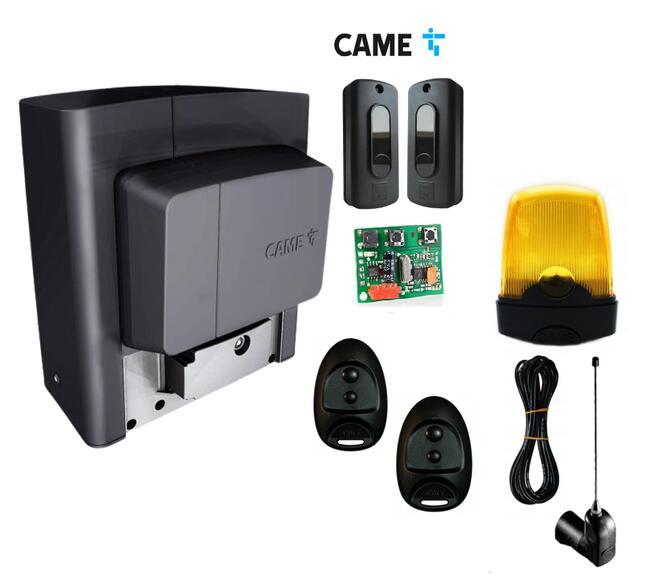 Napęd do bramy CAME BX PLUS SPACE + antena radiowa + lampa