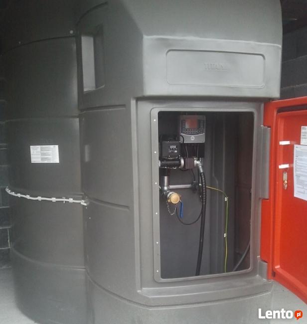 Zbiornik na paliwo ON 5000L z systemem monitoringu