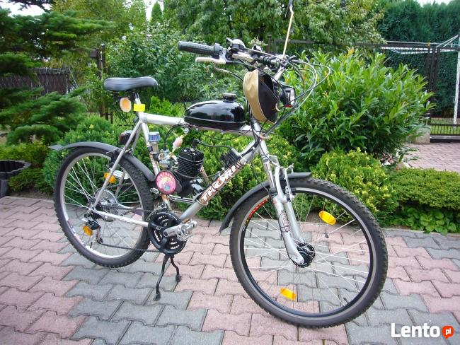 Rower na pedały z silnikiem