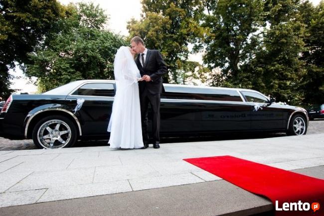 Limuzyna lub cabrio do ślubu i nie tylko