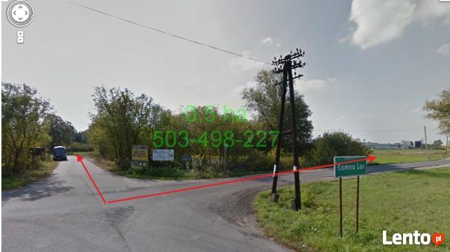 działka inwestycyjna 6400 m2 Palmiry przy DK7