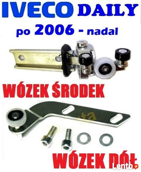 ŚRODKOWY DOLNY WÓZEK ROLKA drzwi przesuwnych IVECO DAILY 06-