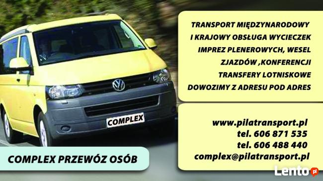 Complex przewozy pasażerskie Bus do Niemiec Holandii Poznań