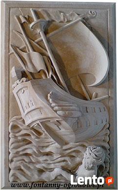Rzeźba z piaskowca. Pracownia Adamowicz