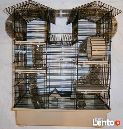 NOWA klatka, pałac dla chomika, szczura w cenie 110 zł