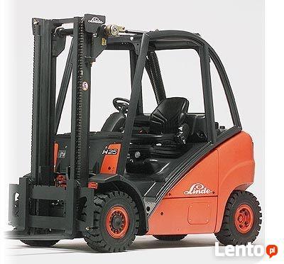 Sprzedam wózek widłowy LINDE H25T-01