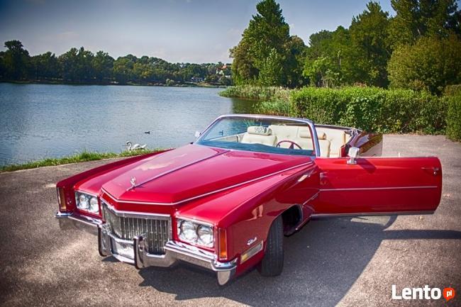 Cadillac skrzydlak i eldorado kabriolet