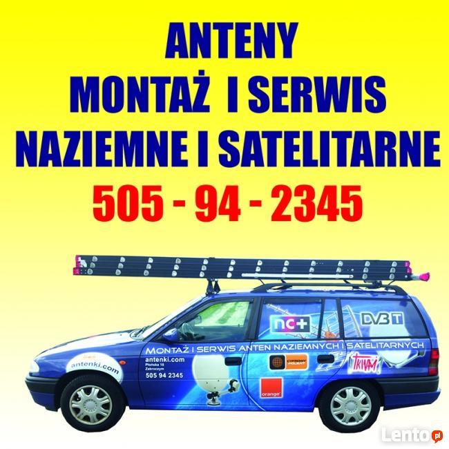 Montaż i Serwis Anten Satelitarnych i naziemnych