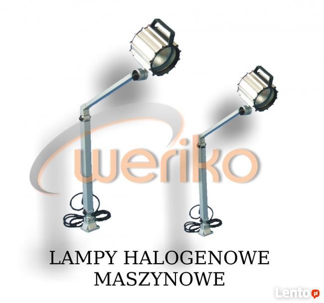 Lampy halogenowe do maszyn 24V ----- FIRMA WERIKO Lubin ----