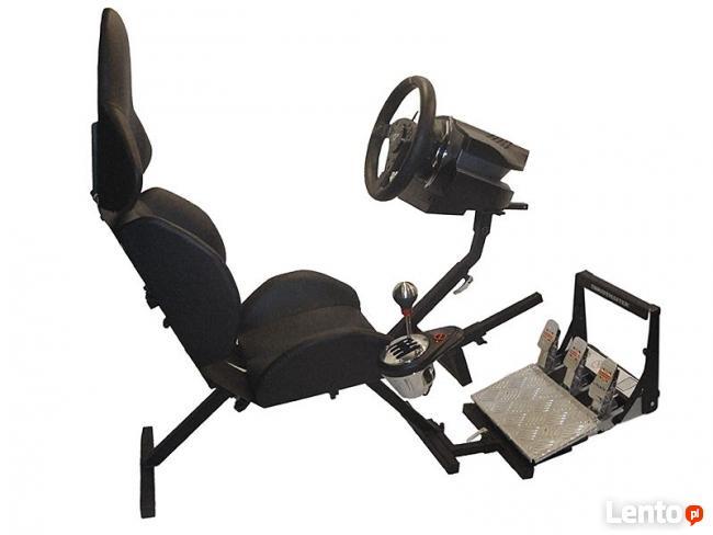 FOTEL DO GIER z regulacją adaptacyjną >stand pod kierownice