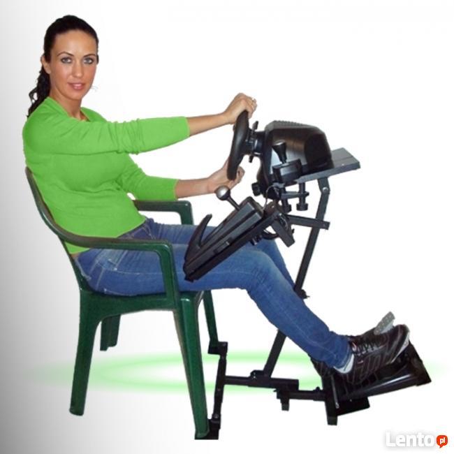 STOJAK pod kierownice m.in.G27,T500RS,CSR do fotela dom-1A