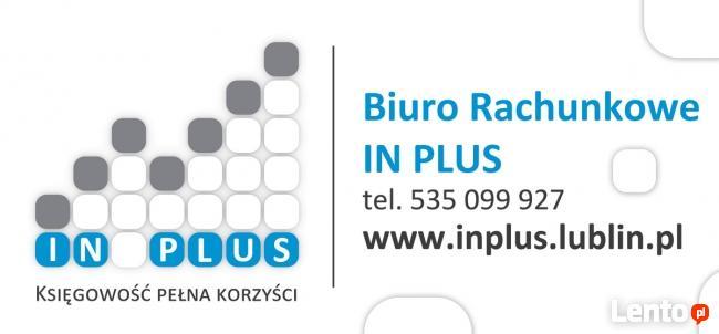 Biuro rachunkowe IN PLUS- Zapraszamy do współpracy