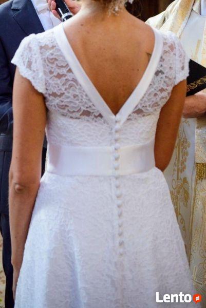 Suknia ślubna GALA CHLOE - koronka - Klasa i Szyk