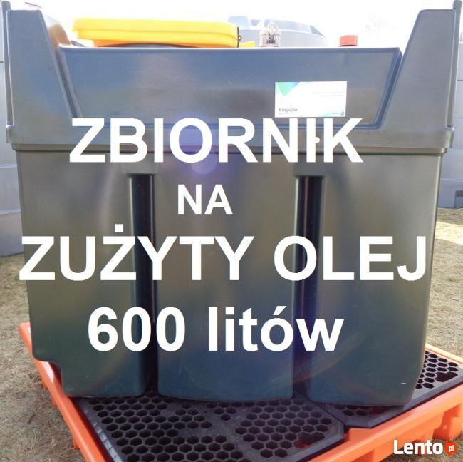 Zbiornik 600l na zużyty olej
