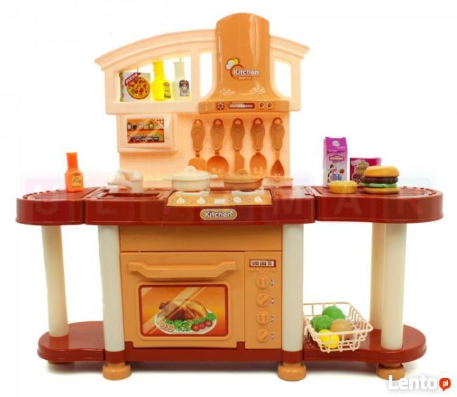 Ogromna kuchnia dla dzieci +akcesoria, światło, dźwięk