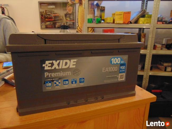 Akumulator Exide Premium EA1000 100Ah 900A Wymiana za darmo